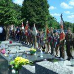 Uroczystości odprowadzenia zmarłego płk Mieczysława Heroda na miejsce wiecznego spoczynku