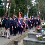 Uroczystości pogrzebowe kpt. Franciszka Baryły
